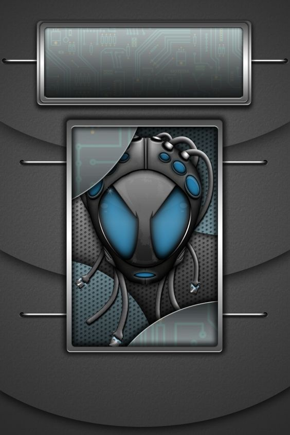 Project 726 Blue Badgb Lock Wall 2 My Iphone Walls Pinterest