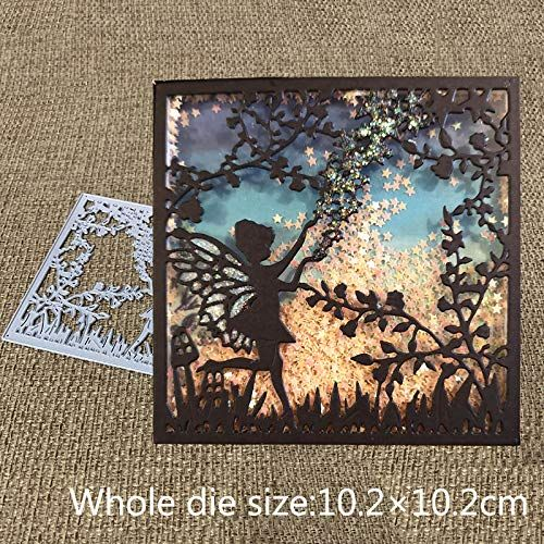 Fairy Metal Cutting Dies Stencils DIY Scrapbook Embossing Album Paper Card Craft