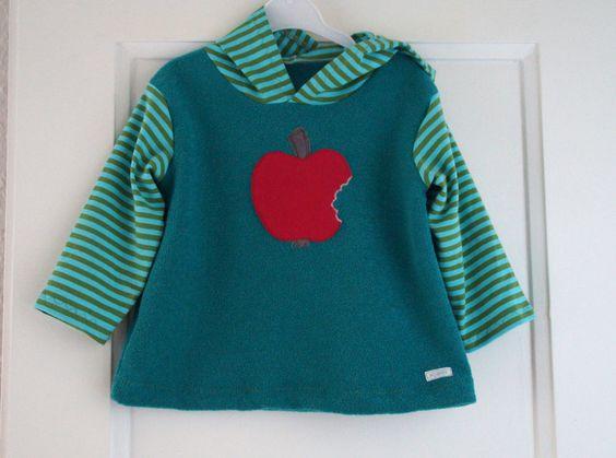 Pullover mit Apfel Gr. 80/86 von -Kleini- auf DaWanda.com