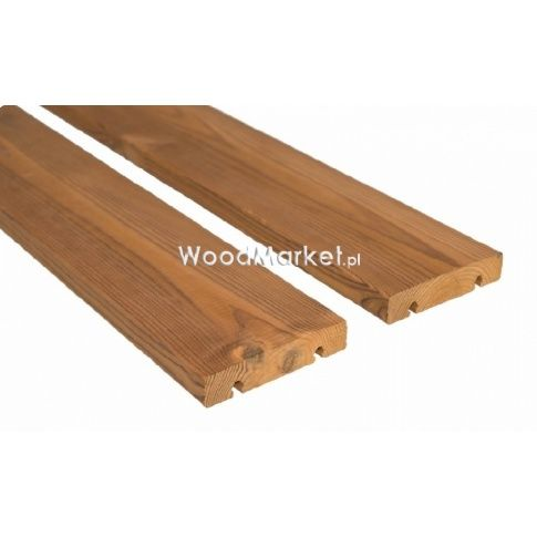 Deska Tarasowa Thermo Sosna Skandynawska Pacsystem 26x118x3900mm Tarasy Sklep Wood Market Boards