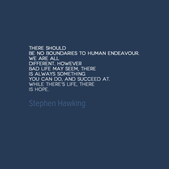 Stephen Hawking  Life And We On Pinterest