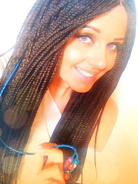 #braids #africanbraids #africanstyle #africanhair #hairstyle #afrobraids #afrohair #hair #fashionhair #fashionstyle #africanbraidsstyle #treccine #treccineafricane #capelli #summer #summer2013 #estate #estate2013