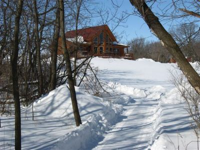 Moonlight Bend Cabin - Charles City, Iowa