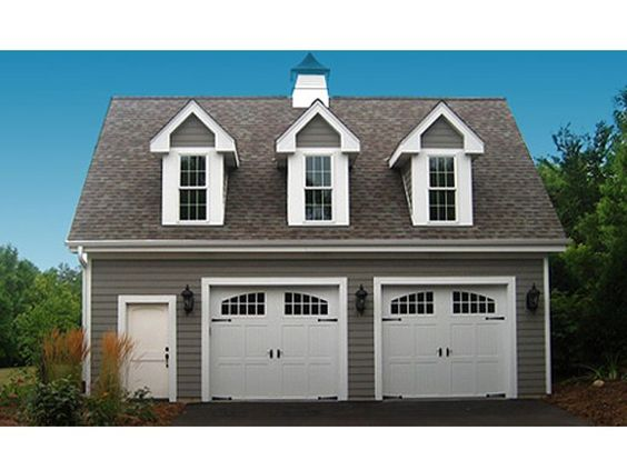Detached garage plans with loft sweethomedesignideas com for Three car detached garage plans