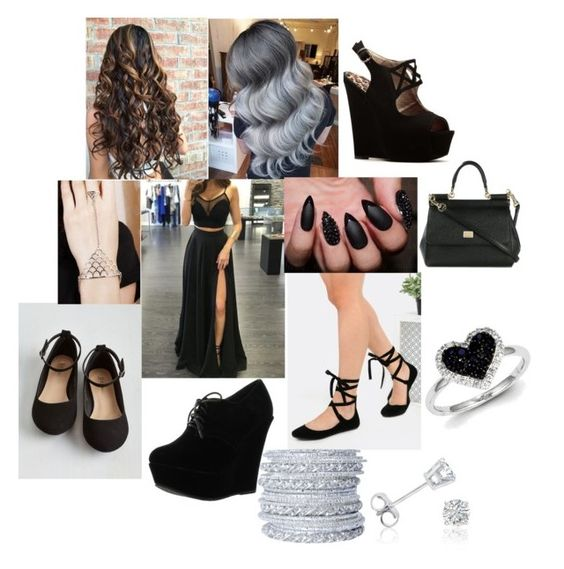 """""""#79"""" by jakeelamyers ❤ liked on Polyvore featuring Forever Link, Qupid, Dolce&Gabbana, Chamak by Priya Kakkar, Amanda Rose Collection and Kevin Jewelers"""