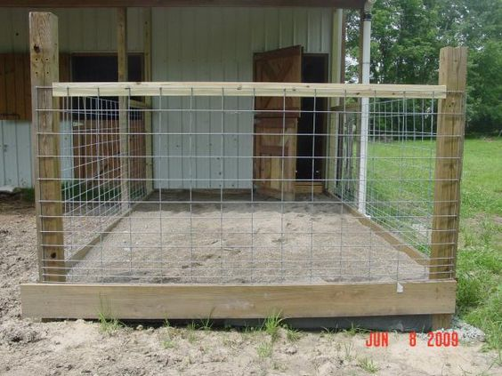Feedlot Panel, Sheep/Goat, 16 ft. L x 48 in. H   Rock Wall