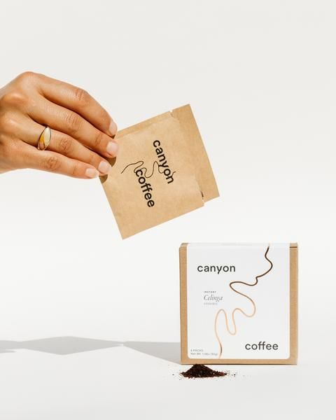 Canyon Instant Coffee With Images Instant Coffee Coffee