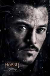 The Hobbit: The Battle of the Five Armies is nearly here & Luke Evans features in a brand new character poster as Bard the Bowman.
