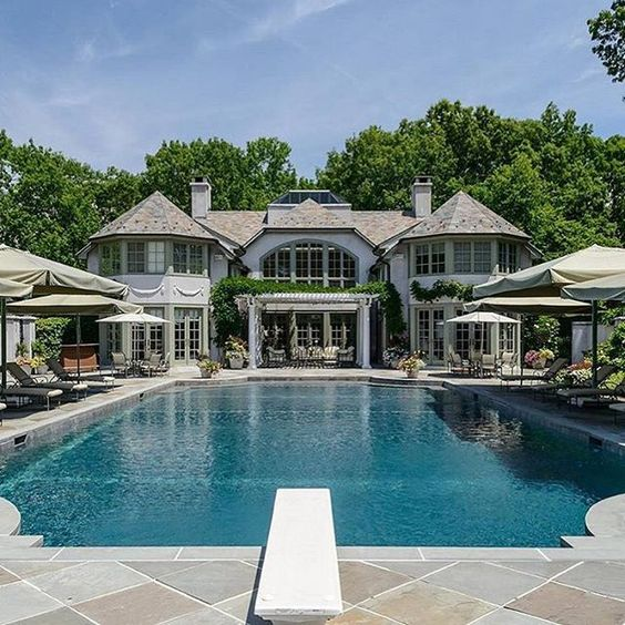 Stunning New York home!  Listed at $29,985,000 Tag friends to have a pool party! - Follow @Boss_Goodlife for more!  Follow @Boss_Goodlife for more! - Property Inquiries email bh@luxwtrealty.com Credit: @jameseditioncom  Location: Upper Brookville, New York