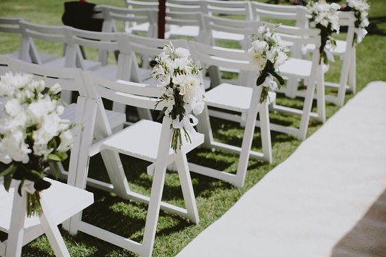 seats and flowers