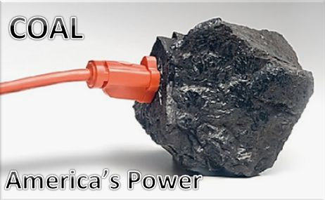 COAL=America's Power!
