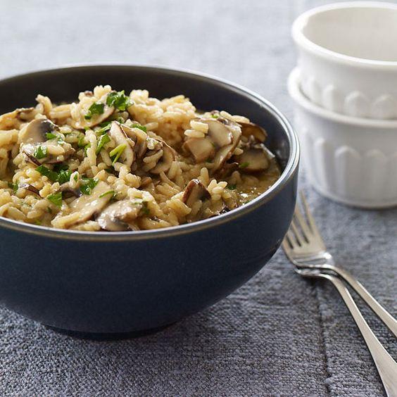 WeightWatchers.fr : recette Weight Watchers - Risotto aux champignons