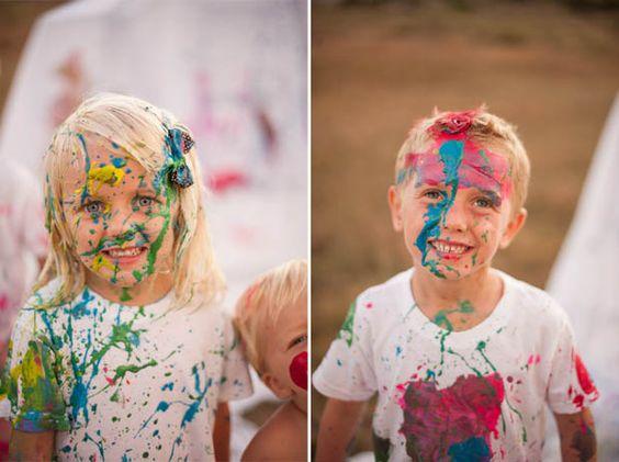 Paint war photo shoot family portrait ideas pinterest for Paint photo shoot ideas