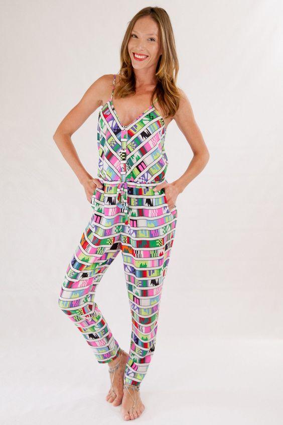 2015 Mara Hoffman Clothing Belts Voile Jumpsuit