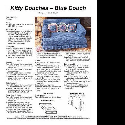 Archivo De Albumes Crochet Furniture Crochet Cat Bed Crochet Cat Toys