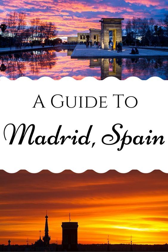 A Guide To Madrid, Spain great for budget backpacker! - Anita Hendrieka