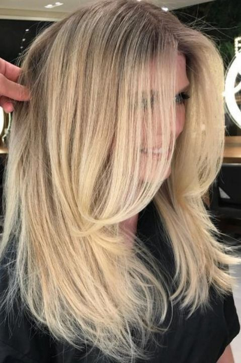 13 Popular Long Hairstyles With Short Layers Long Face