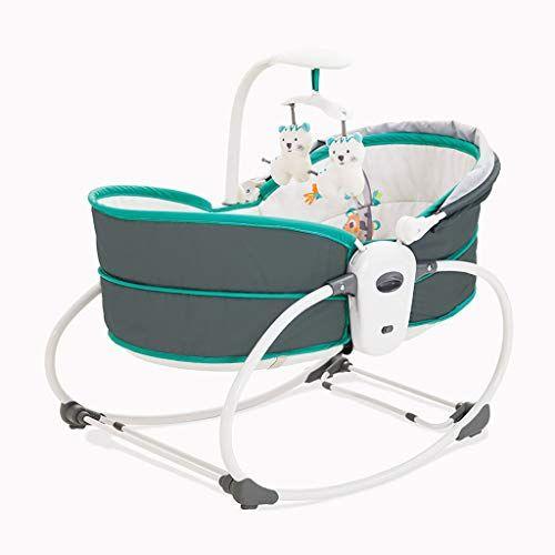 Qi Peng Baby Electric Baby Cradle Vibration Crib Bed Rocking