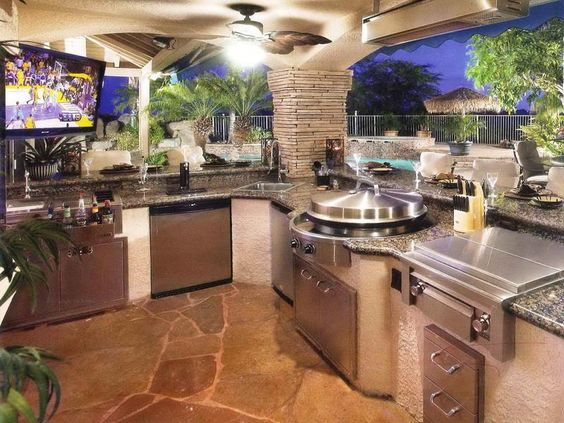 Inexpensive outdoor kitchen ideas imagery above is for Affordable outdoor kitchen ideas