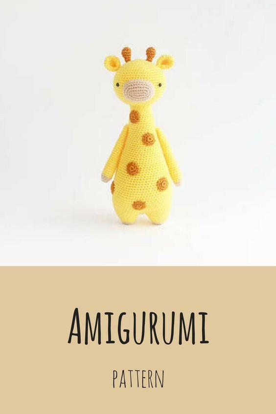 crochet pattern amigurumi Giraffe | Crochet giraffe pattern ... | 845x564