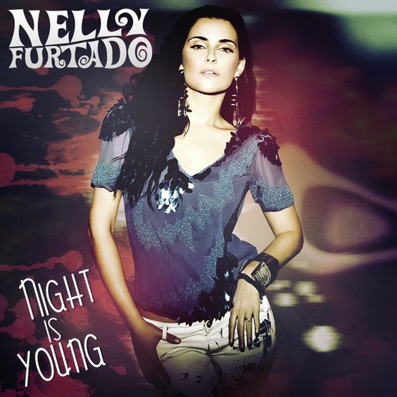 Nelly Furtado – Night Is Young (single cover art)
