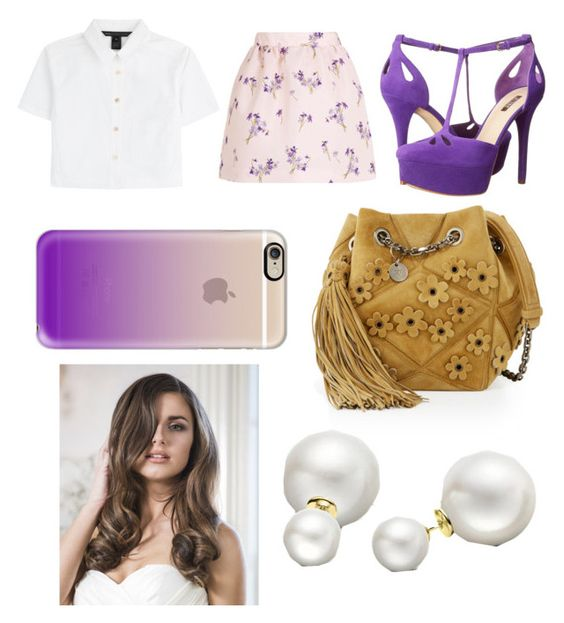 """""""Untitled #612"""" by kkbaby24 ❤ liked on Polyvore featuring Marc by Marc Jacobs, RED Valentino, GUESS, Roger Vivier, Casetify, Allurez and WardrobeStaples"""