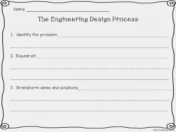 Collection of Engineering Design Process Worksheet Sharebrowse – Engineering Design Process Worksheet