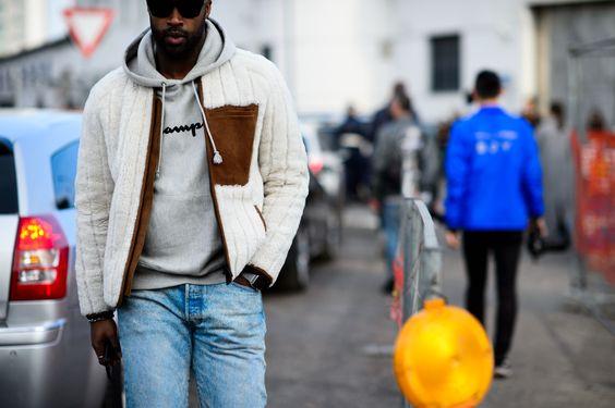 Milan Fashion Week Fall 2016 Street Style, Day 2 - -Wmag