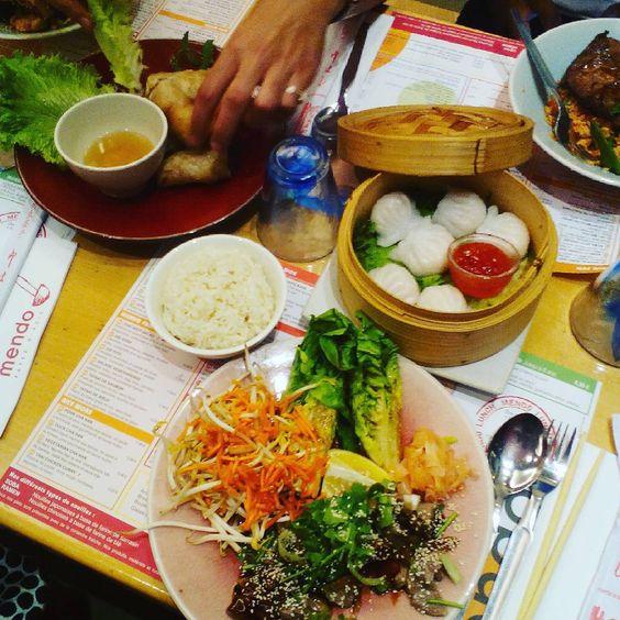 «Salade thaï au Mendo! #miam»