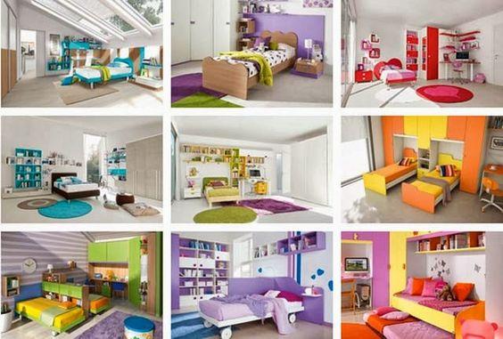 Dormitorios para ni os dormitorios fotos de dormitorios - Decoracion de habitaciones para ninos ...