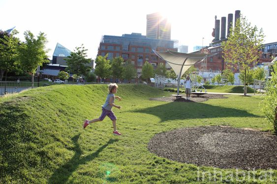 Pierce's Park Combines Art, Play, and Stormwater Management into a Stunning Urban Oasis in Baltimore
