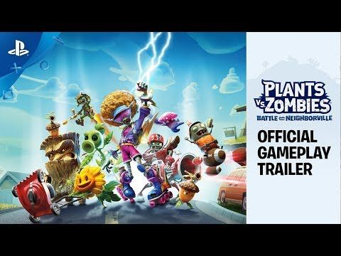 Plants Vs Zombies Battle For Neighborville Official Gameplay