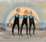 Three boys: Three Boys, Moss Art, Amish Paintings, Moss Amish, Celebrate Boys, P Buckley Moss