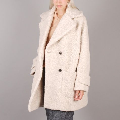 Surface To Air Teddy Coat - Beige