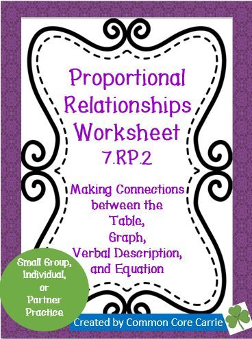 Worksheets Proportional Relationships Worksheets Christmas the unit equation and variables on pinterest proportional relationships worksheet 7 rp 2