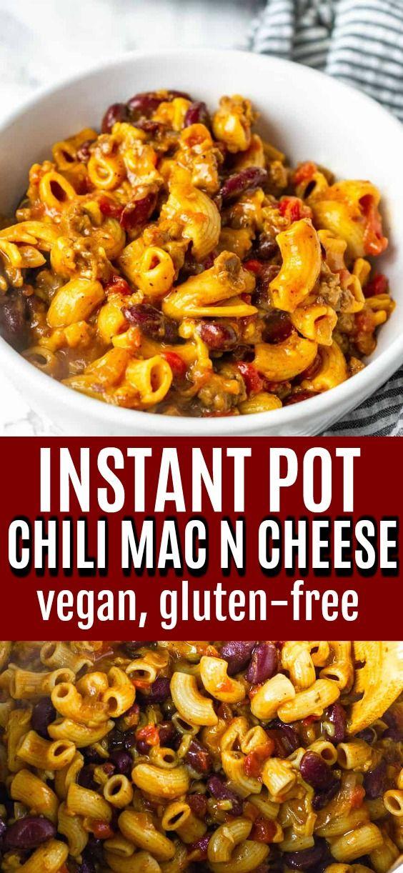 Instant Pot Vegan Chili Mac And Cheese