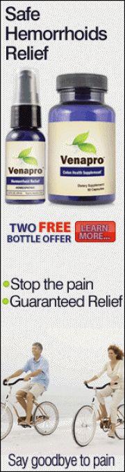 Venapro Homeopathic Hemorrhoid Relief Formula Venaprowalmart