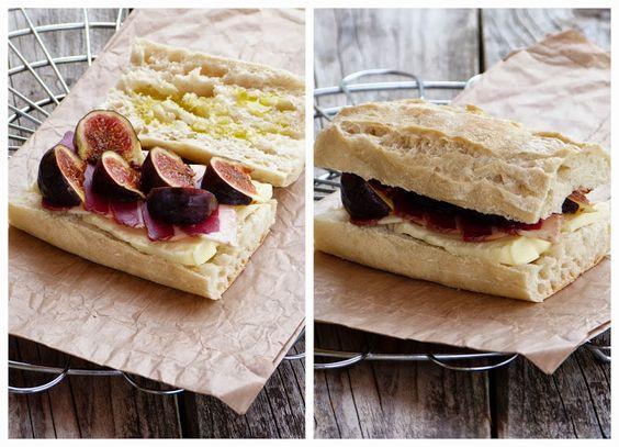 chic,chic,choc...olat: Paninis à la tomme de cantal, magret de canard et figues {Battle Food #11}
