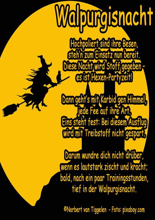 Walpurgisnacht Gedichte Und Spruche Lustige Spruche Bilder Witzige Spruche
