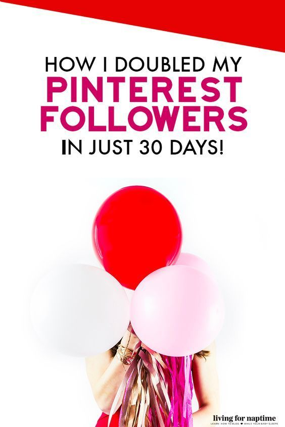 How I Doubled my Pinterest Following in 30 Days