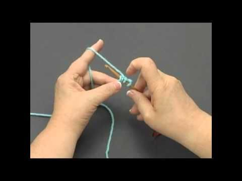 How to knook...this is awesome...knitting with a crochet hook!  full tutorial here!