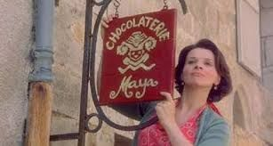 Chocolat the film, Vianne the character. Sensuality, originality, authenticity, French, gyspsy, chocolate!
