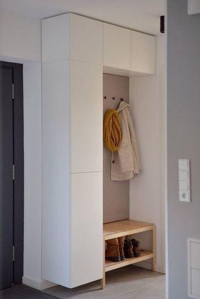 Diynstag 10 Nouveaux Hacks Diy Ikea En 2020 Meuble Vestiaire Entree Deco Entree Maison Diy Ikea