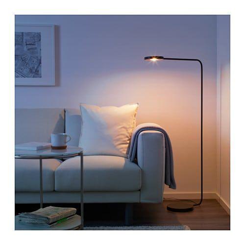 Ypperlig Dark Grey Led Floor Lamp Ikea Led Floor Lamp Floor Lamp Floor Lamp Bedroom