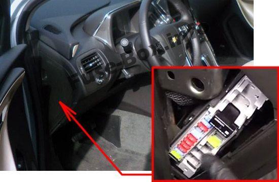Chevrolet Volt 2011 2015 Fuse Box Location Chevrolet Volt