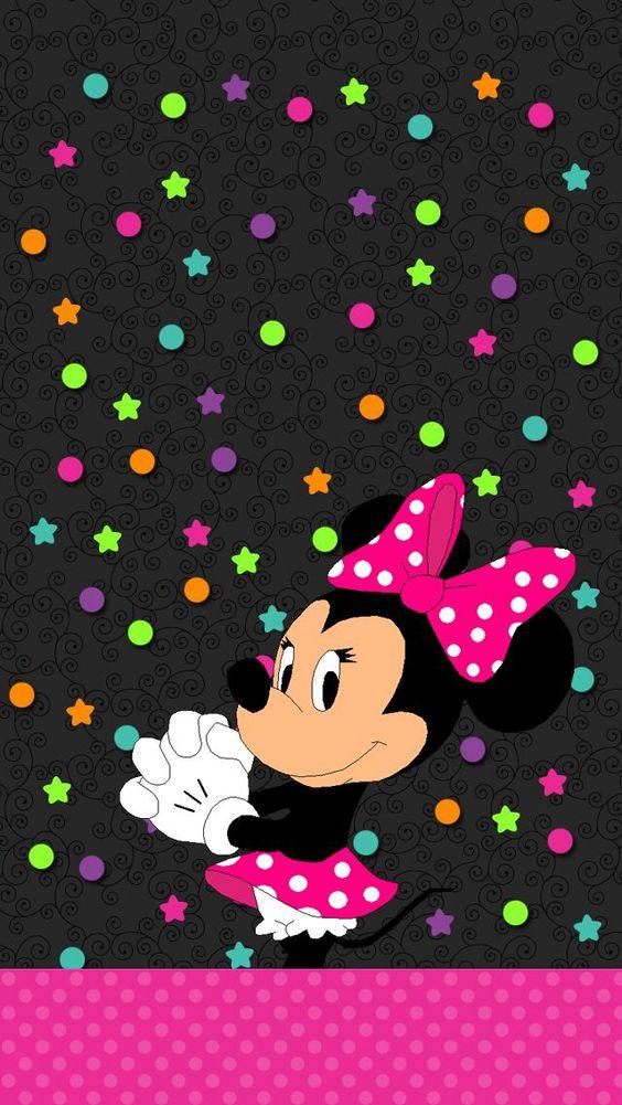 Minnie mouse wallpaper cute pinterest mini rat n - Fondos de minnie mouse ...