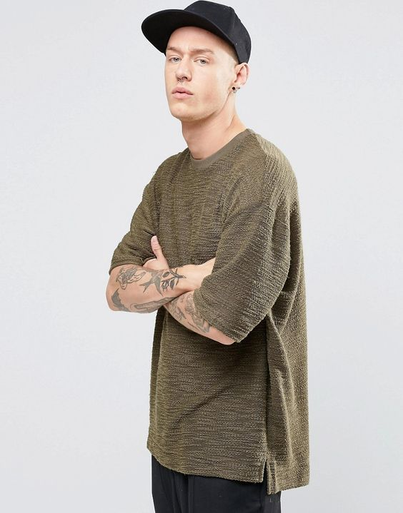 Sixth June T-Shirt With Dropped Shoulder