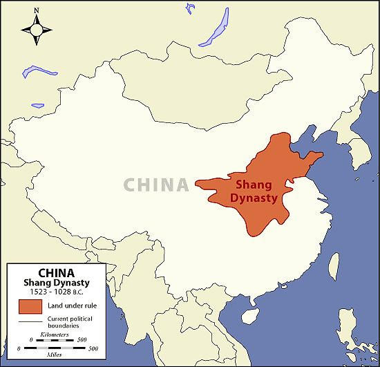 Image result for shang dynasty map copyright free