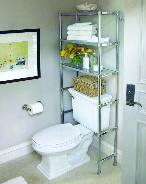 15 Brilliant Over The Toilet Storage Ideas That Make The Most Of