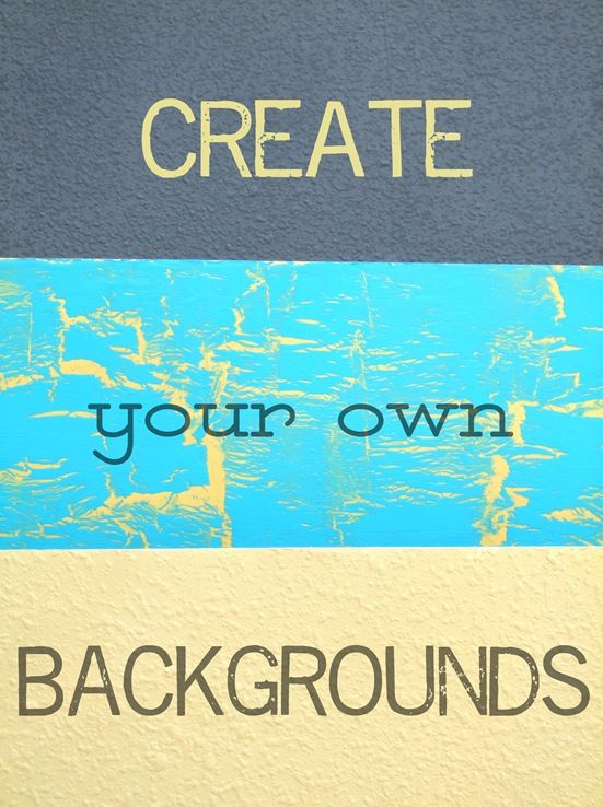 Several tutorials for creating your own backgrounds for photo shoots, awesome!!